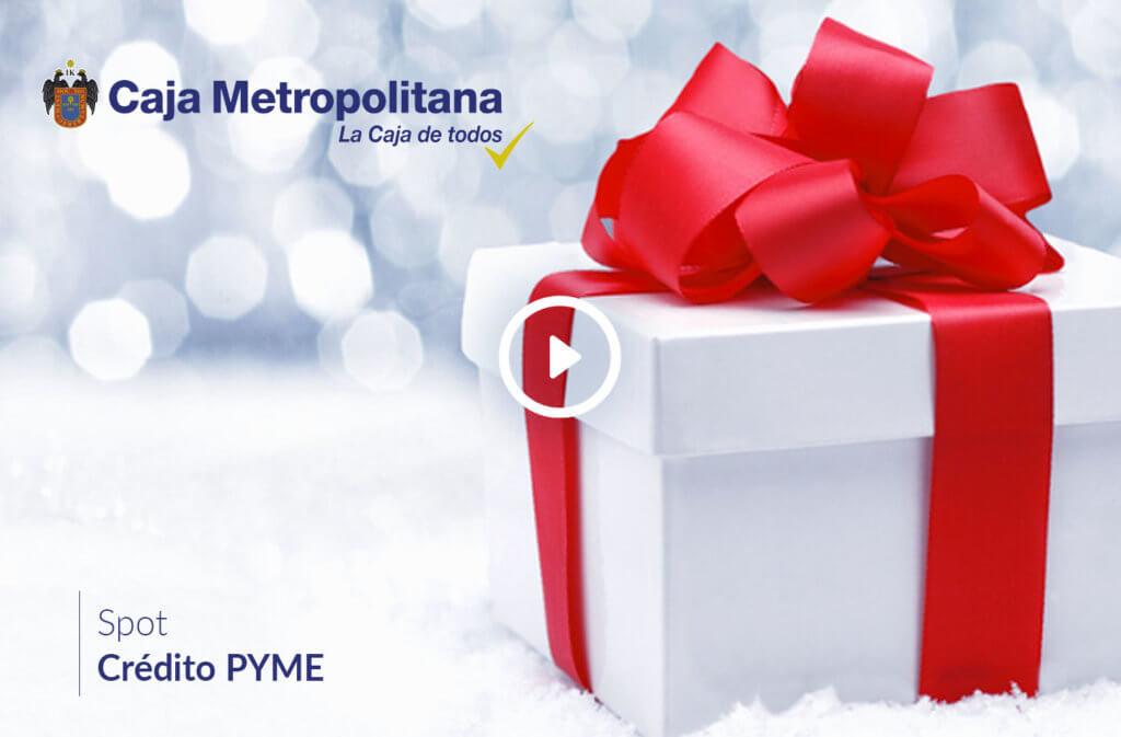 credito pyme caja metropolitana spot